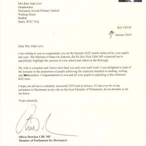 Oliver Dowden Letter